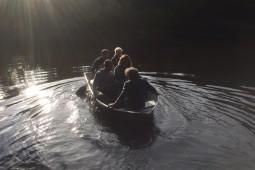 Vrienden in een bootje
